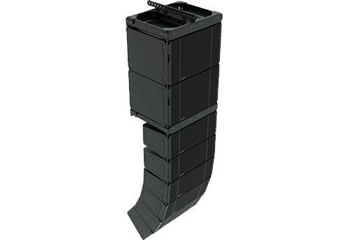 KF 810P array with SB818P|F companion subwoofer