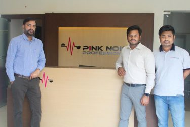 Pink Noise Professionals, India_(L-R) Shailesh Awasthi, Vikram Yadav and Vijay Sinha